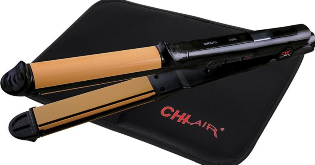 chi onyx flat iron with thermal mat