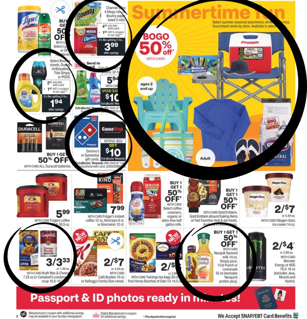 Page 4 of the CVS weekly ad
