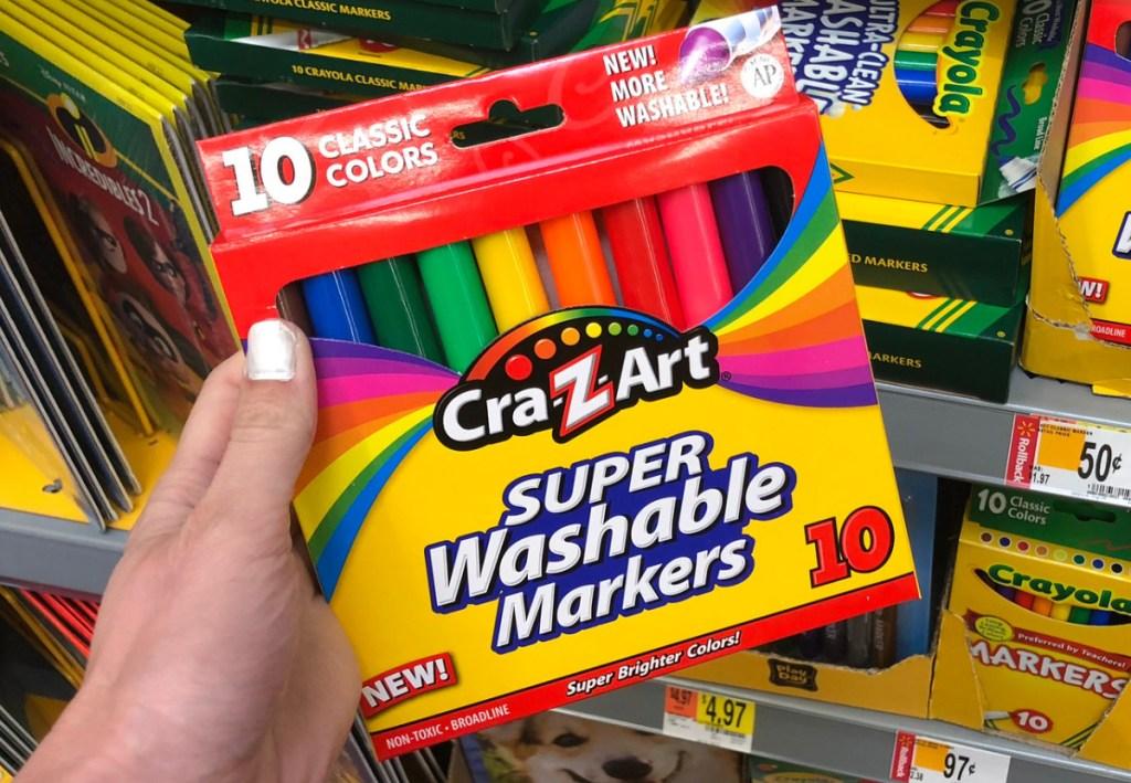 Car-Z-Art Super Washable Markers 10-count