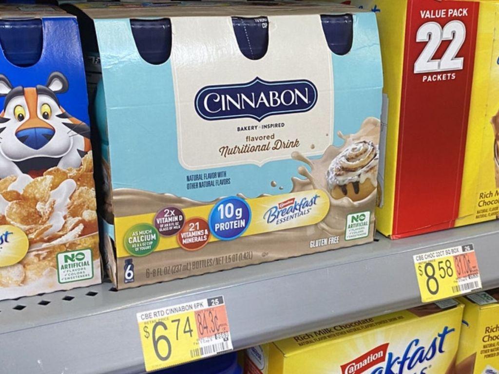 Carnation Breakfast Essentials Cinnabon Drink