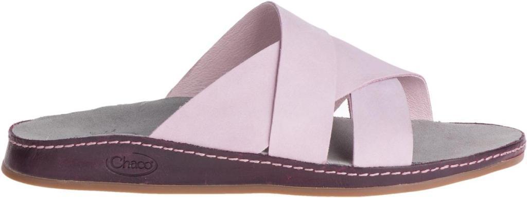 pink slide sandal