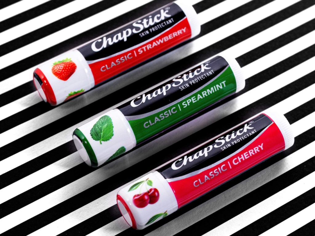 3 chapsticks