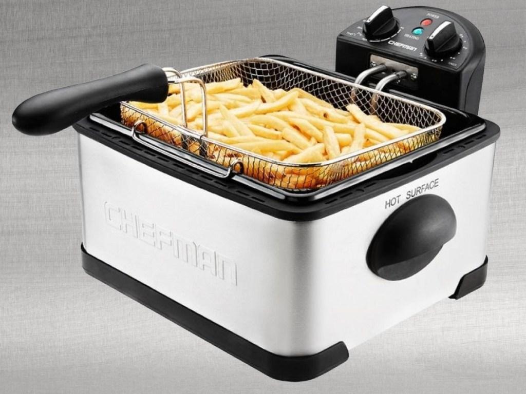 Chefman stainless steel deep fryer