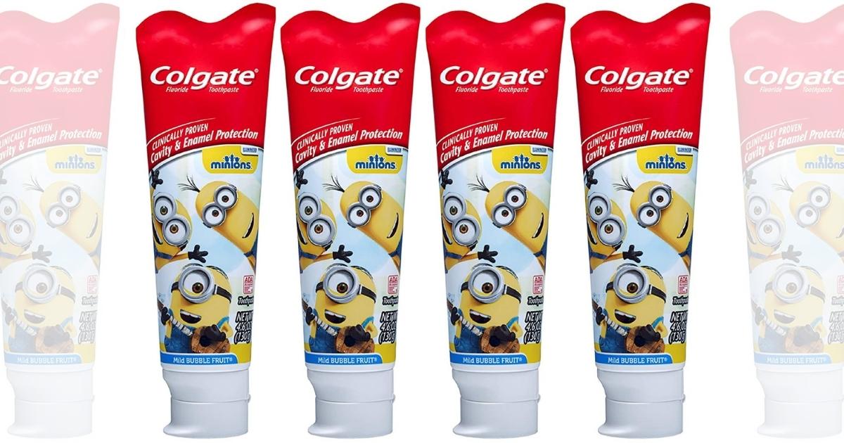 Colgate Kids Toothpaste 4-Pack