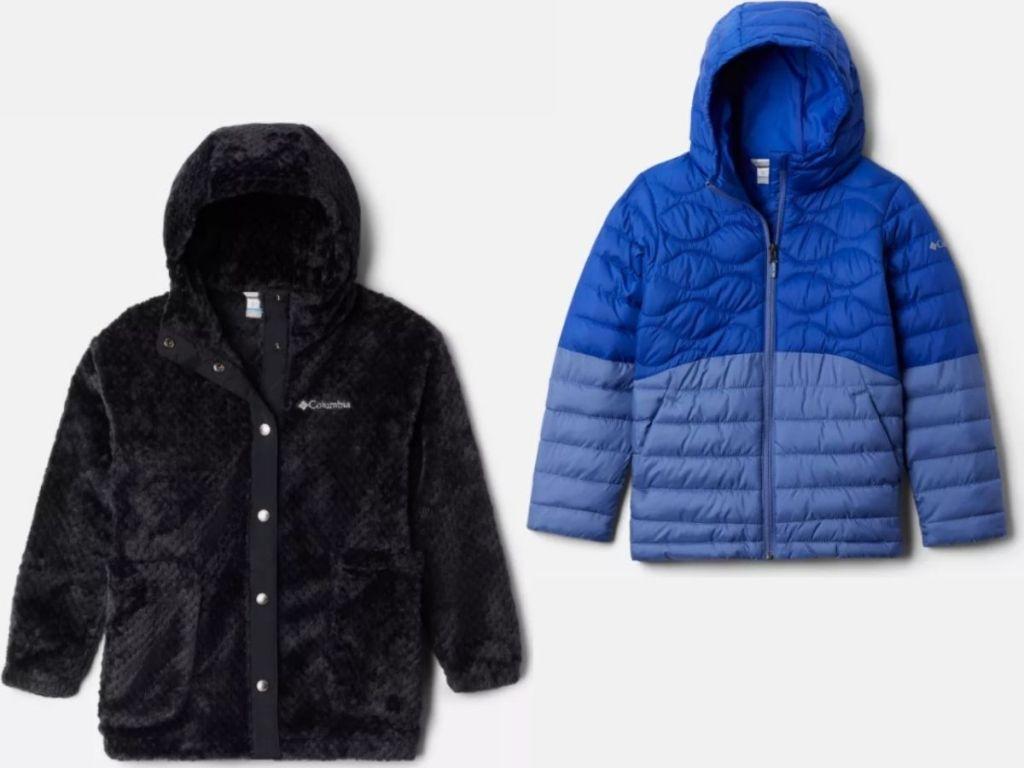 Columbia kids jackets