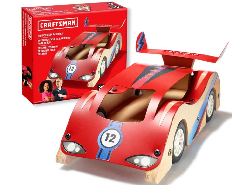 race car building set