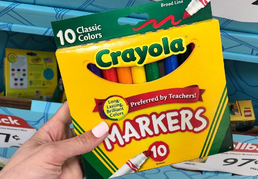 Crayola Broad Line Art Markers 10-Count