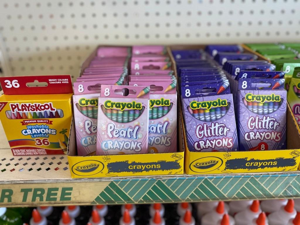 Crayola Pearl or Glitter Crayons