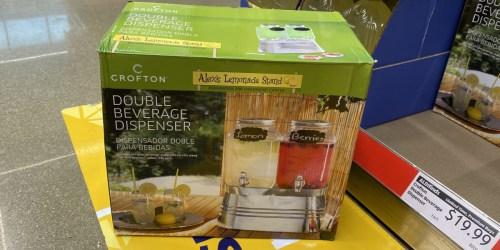 Crofton Double Beverage Drink Dispenser Only $19.99 at ALDI