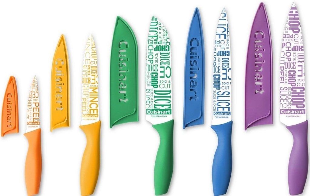 Cuisinart Colorful Knife Set