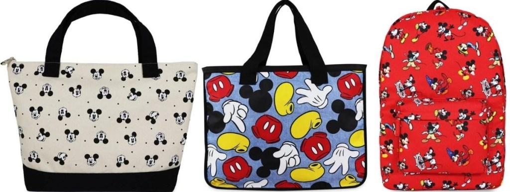 three Disney Bags