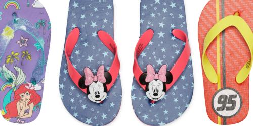 Disney Flip Flops Only $4.80 on JCPenney (Regularly $8)