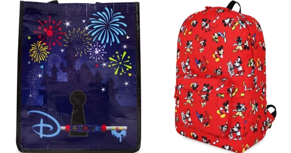 Disney Tote and Backpack
