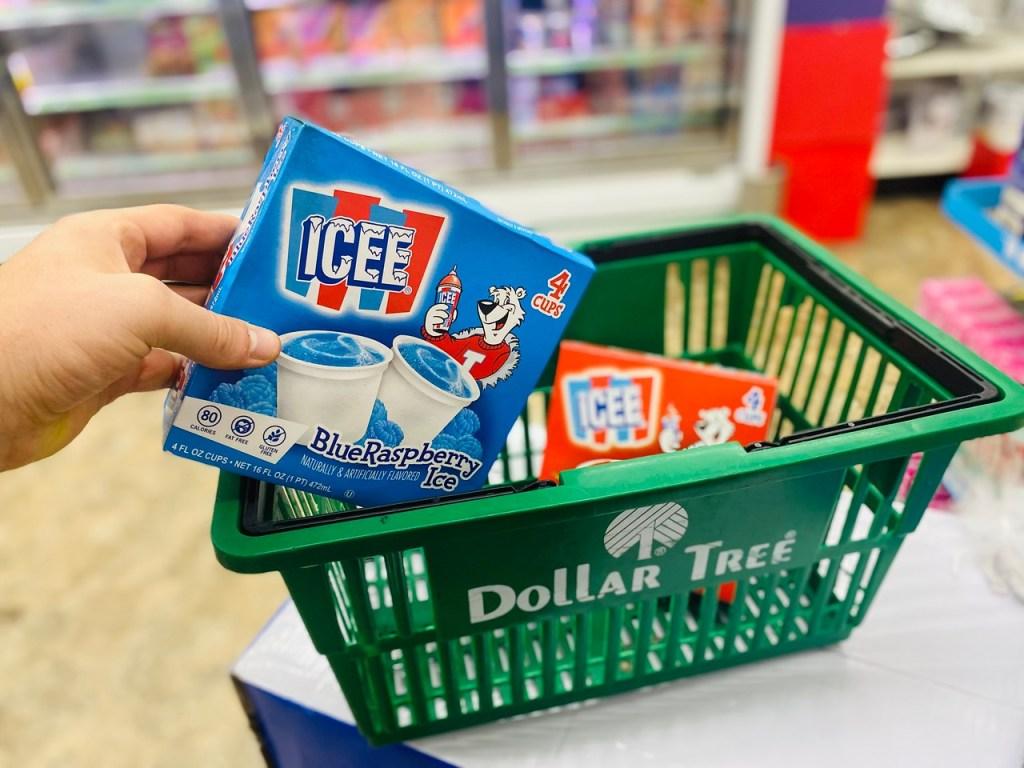 Dollar Tree Icees