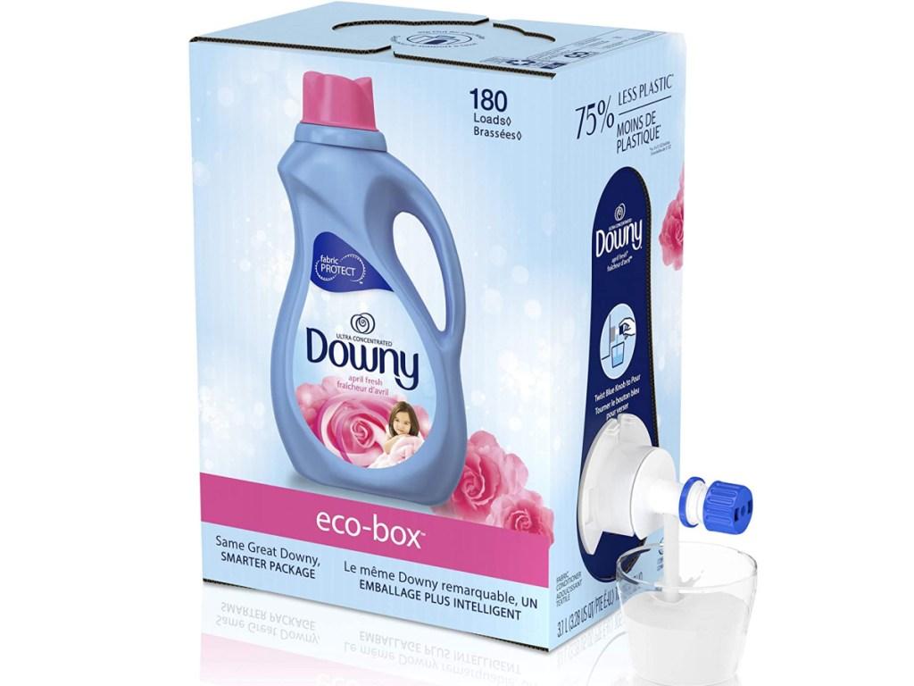 Downy April Fresh Scent Liquid Fabric Softener 180-Loads Eco-Box