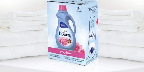 Downy Liquid Fabric Softener 180-Load Eco-Box Just $7 Shipped on Amazon (Regularly $15)