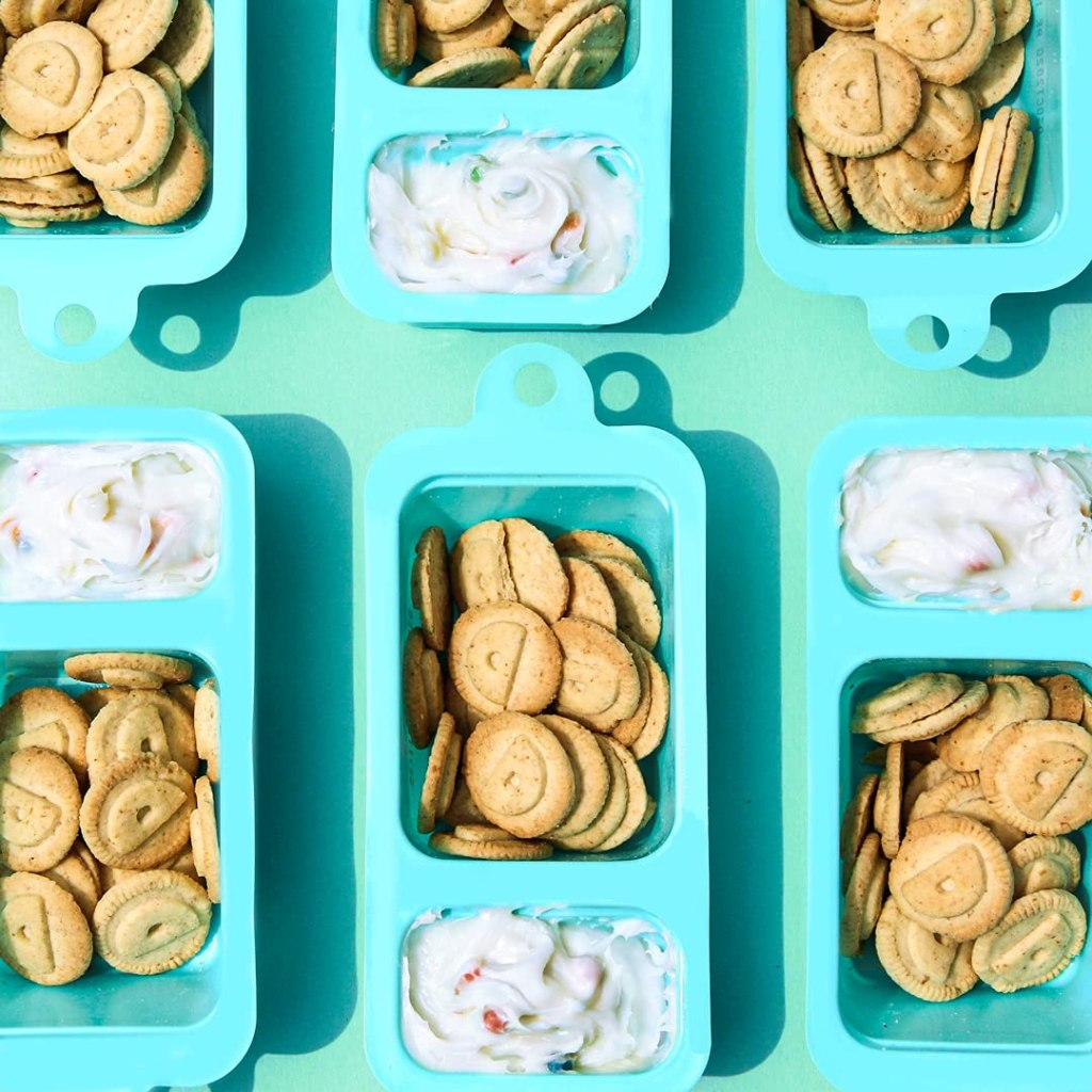 six containers of Dunkaroos