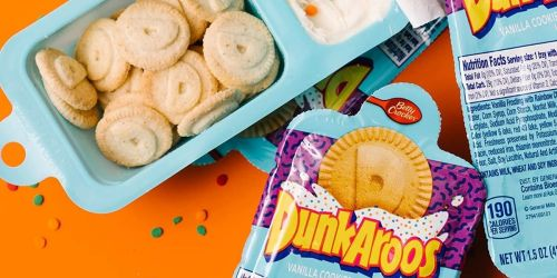 Dunkaroos Cookies & Frosting 6-Pack Only $6.63 Shipped on Amazon