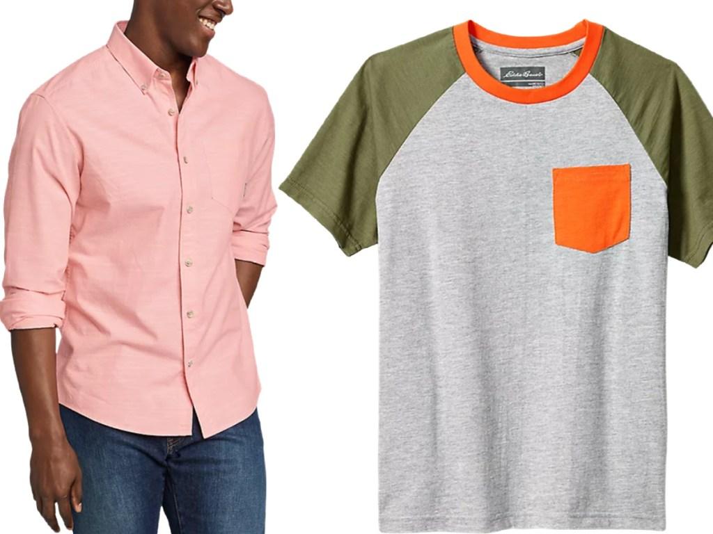 Eddie Bauer shirts