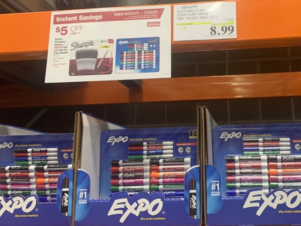 Expo Dry Erase Markers 18-count