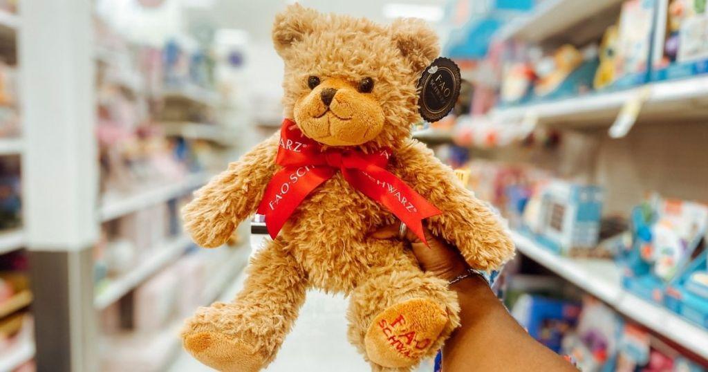 FAO Schwarz Bear Target