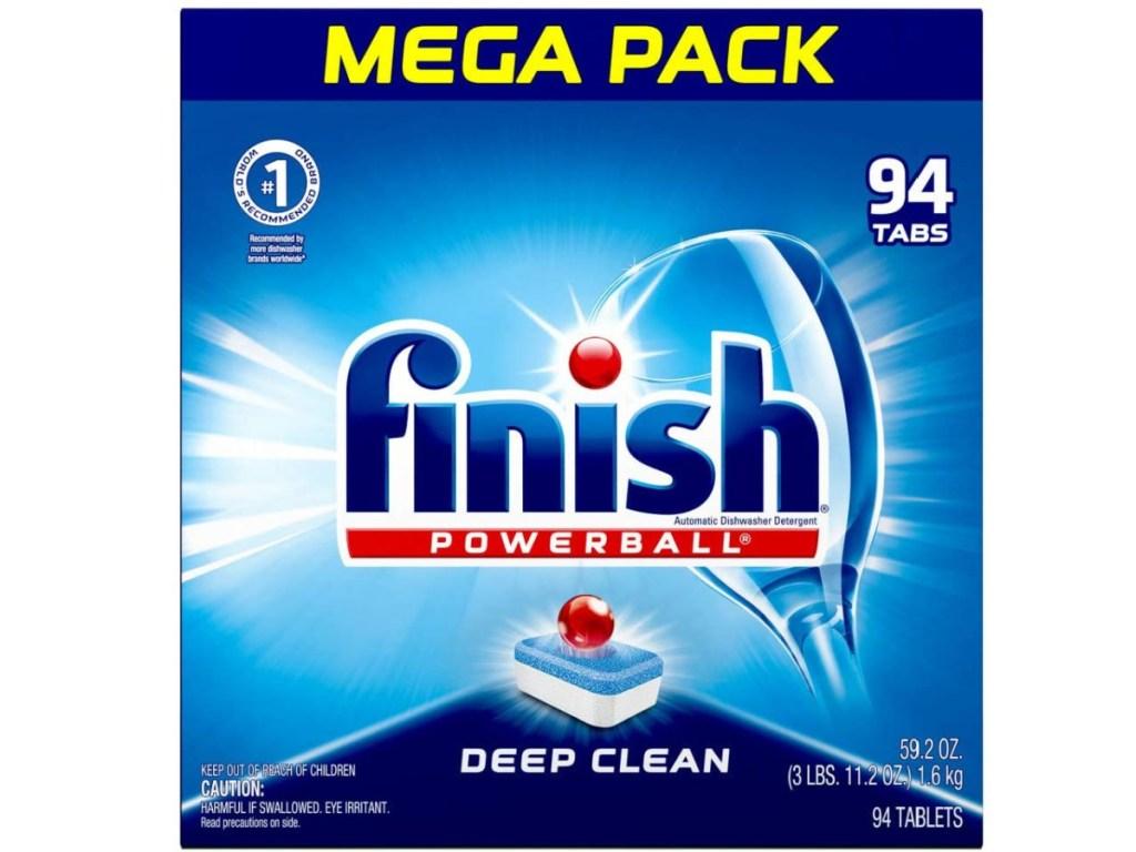 finish dishwashing tablets