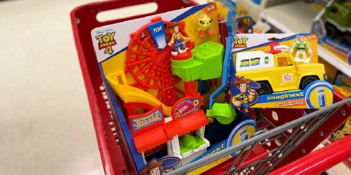 Fisher-Price Disney Pixar Toy Story 4 Carnival Playset Only $10.81 Shipped for Amazon Prime Members (Regularly $21)