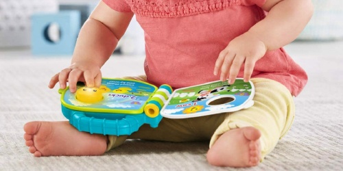 Fisher-Price Laugh & Learn Musical Book Only $7.76 on Amazon or Walmart.com