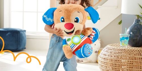 Fisher-Price Laugh & Learn Interactive Puppy Only $15.45 on Walmart.com (Regularly $30)