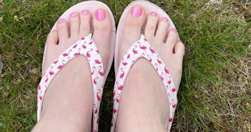 Flamingo Crocs