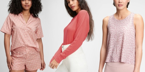 Extra 50% Off GAP Clearance Apparel   Women's Tops from $7.49 (Regularly $40)