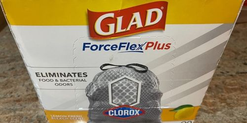 $15 Off $50 Household Purchase on Amazon   Stock up on GLAD Garbage Bags