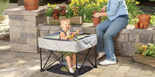 GoPod Portable Activity Seat for Baby Only $39.99 at Zulily   Perfect for Vacations or Outdoor Fun