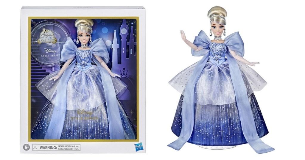 Hasbro Disney Princess Style Series Holiday Style Cinderella