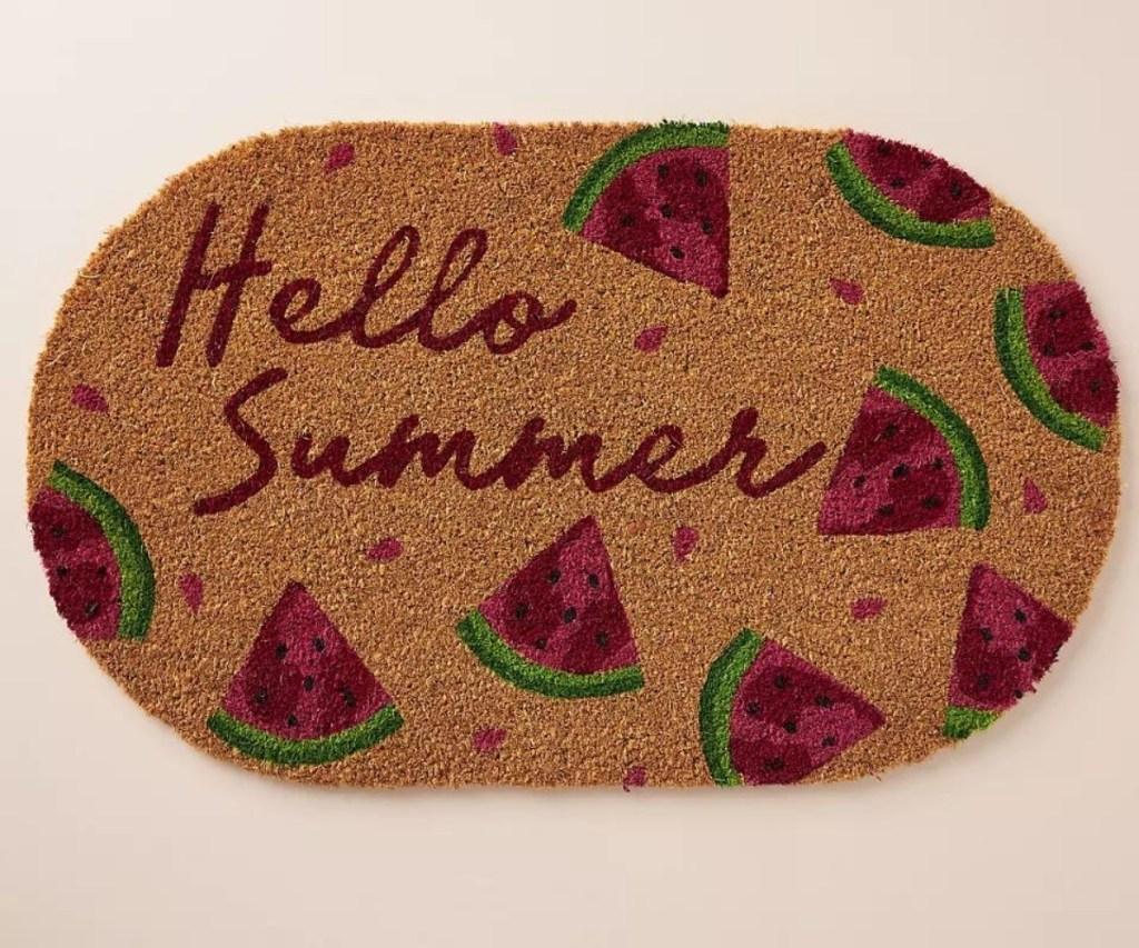 Hello Summer Doormat
