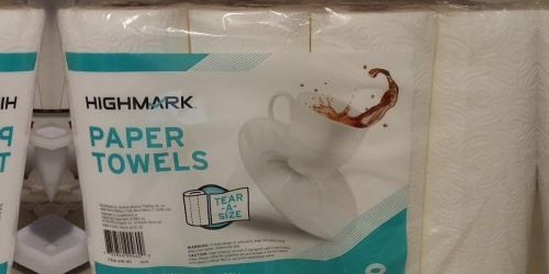 Highmark Paper Towels 8-Pack Just $6 Shipped on OfficeDepot.com (Regularly $10)
