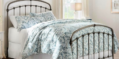 3-Piece Reversible Duvet Cover Sets from $19.99 on HomeDepot.com (Regularly $80)