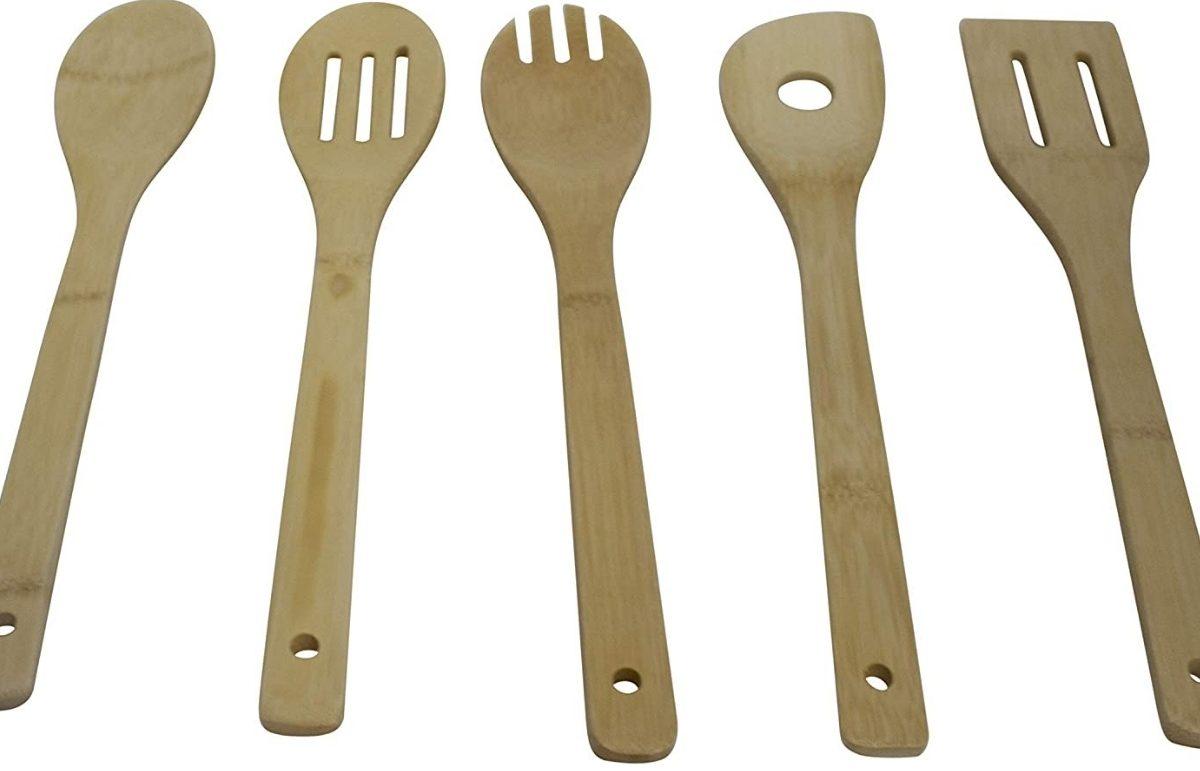 IMUSA USA 5pc Bamboo Set