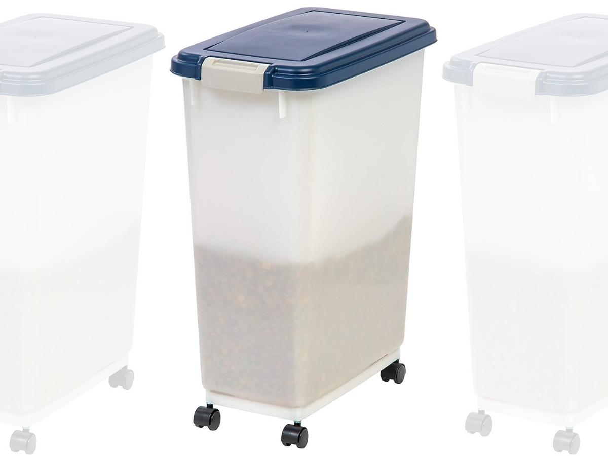 IRIS 47 Quart Airtight Pet Food Container