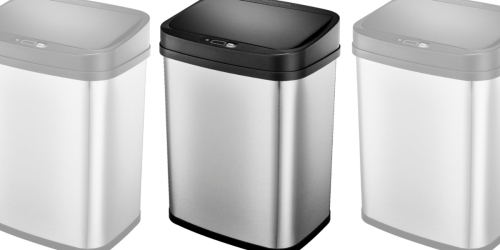 Stainless Steel Motion Sensor 3-Gallon Trash Can Only $14.99 on BestBuy.com (Regularly $40)
