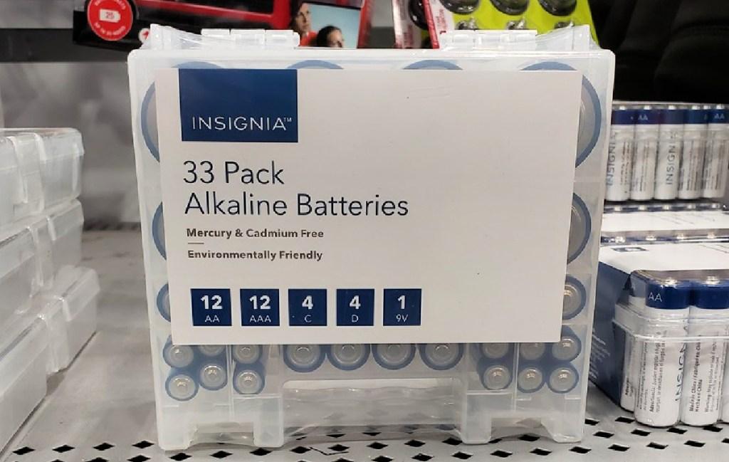 Insignia 36-Pack AA/AAA Batteries