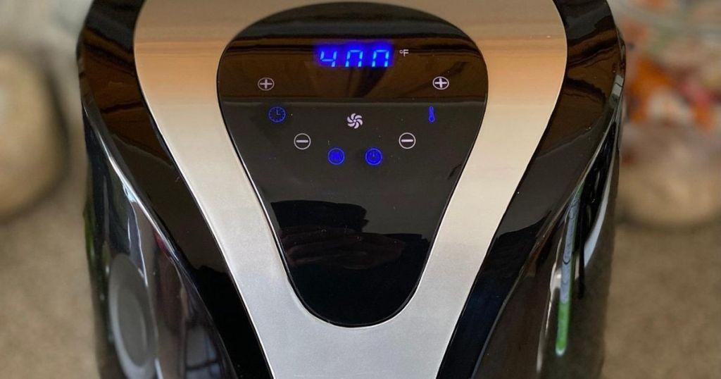 Insignia Air Fryer screen