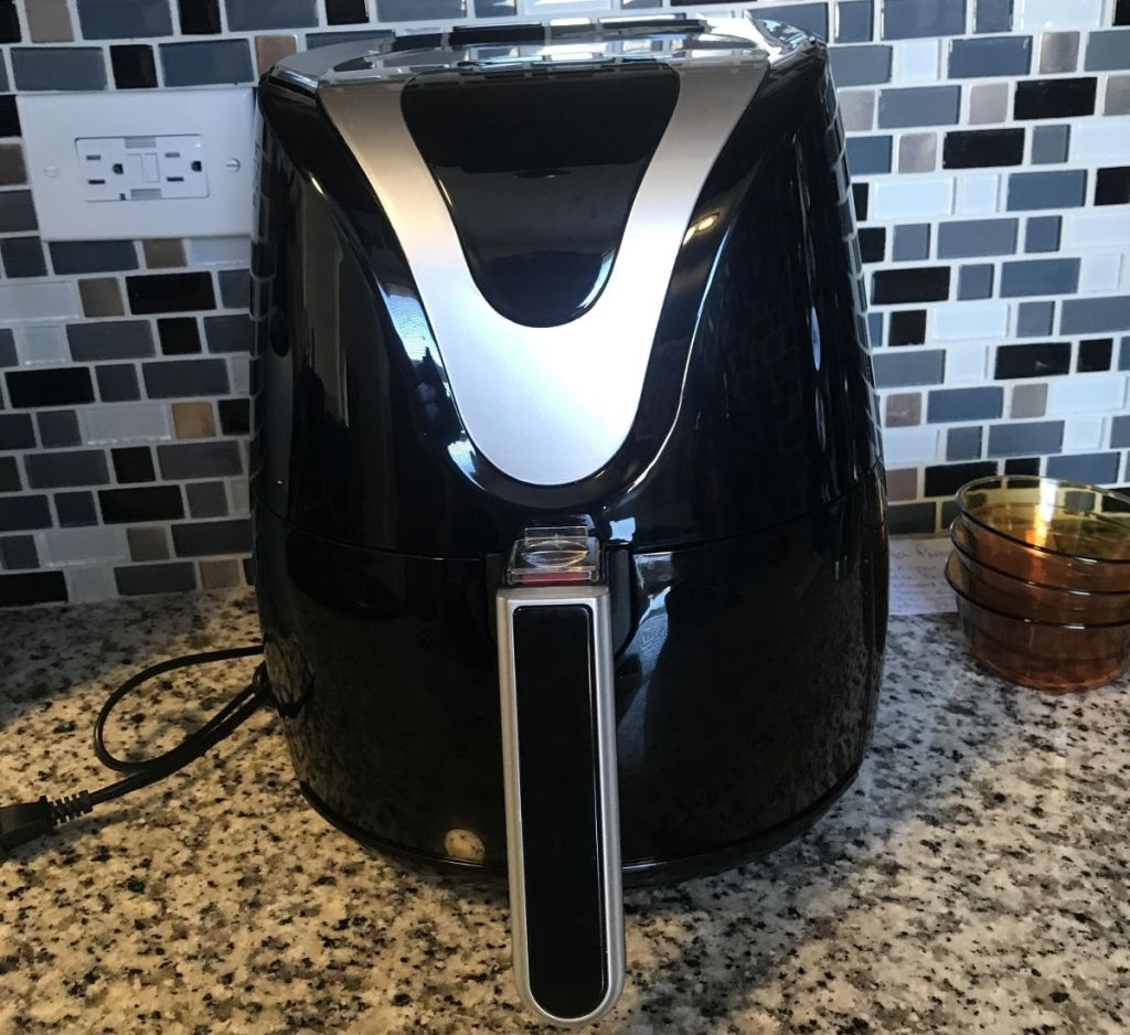 Insignia Digital Air Fryer on a kitchen counter