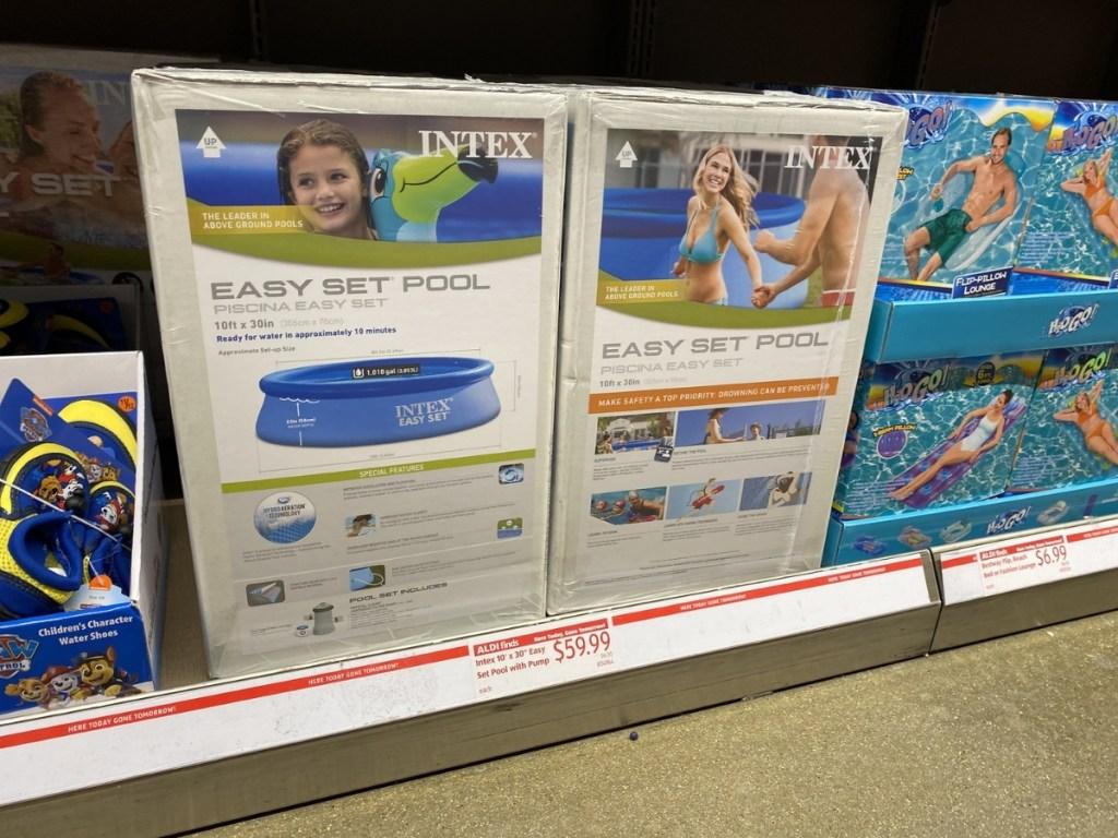 Intex Easy Set Pool with Pump