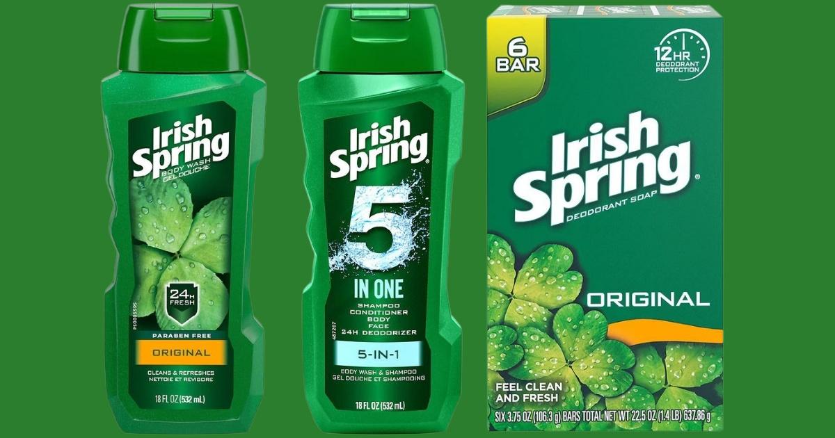 Irish Spring products