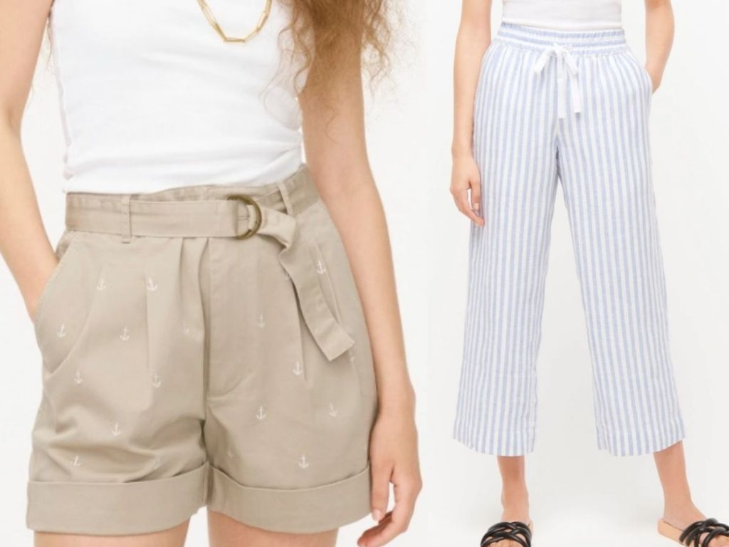 two women wearing J.Crew clothing