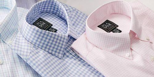 Jos. A. Bank Men's Dress Shirts from $9.99 Shipped (Regularly $45)