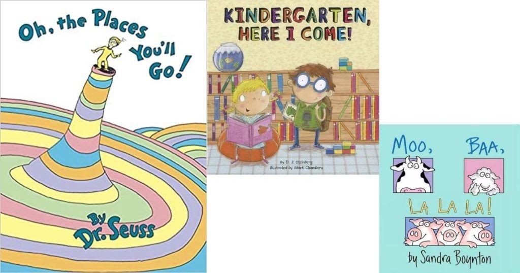 three kids books