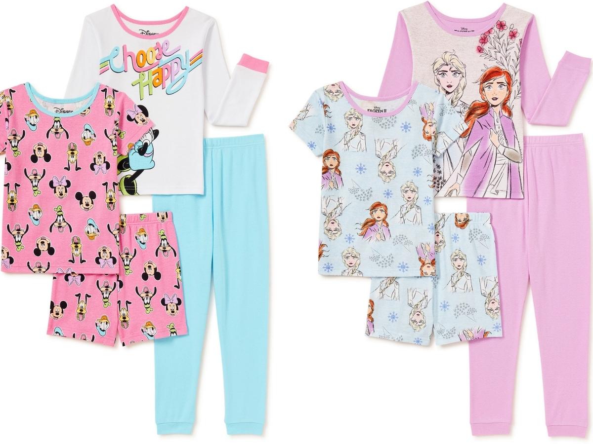Kids Character Pajama Sets at Walmart