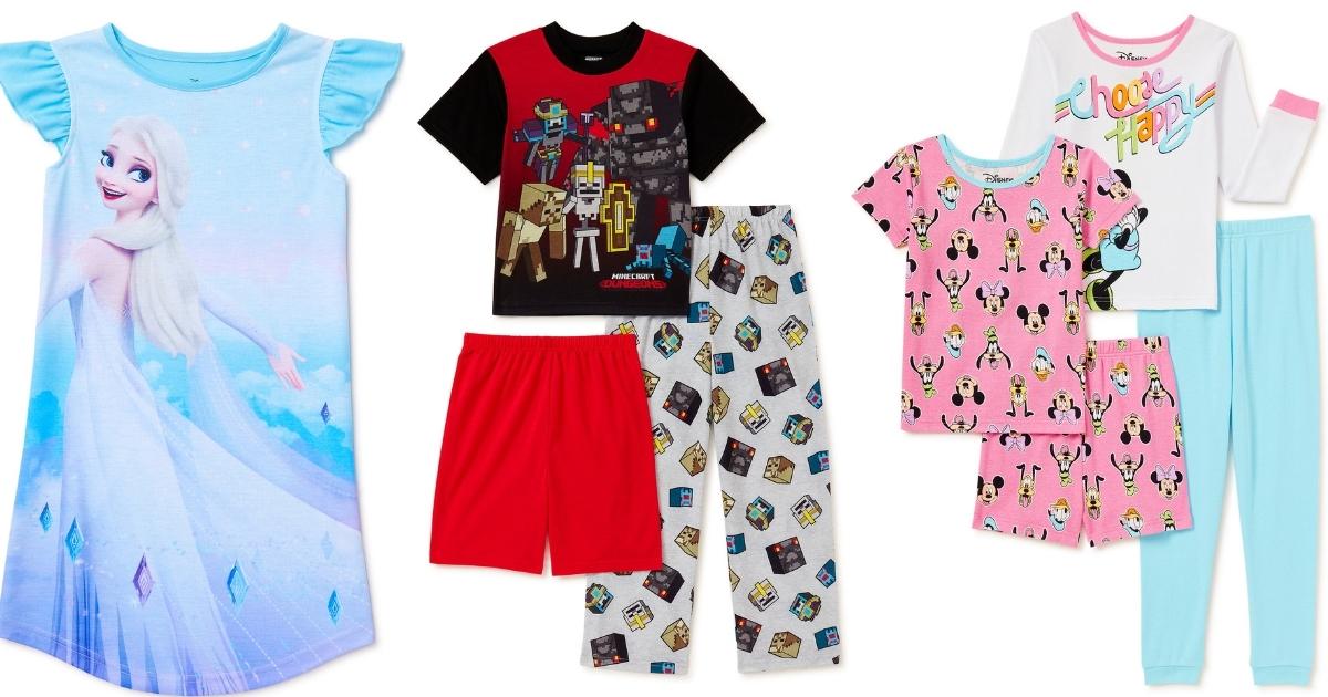 Kids Character Pajama Sets
